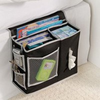 Amazon.com: 6 Pocket Bedside Storage Mattress Book Remote Caddy: Home & Kitchen