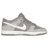 Nike Women's Dunk Low Skinny Casual Shoe Gray (10)