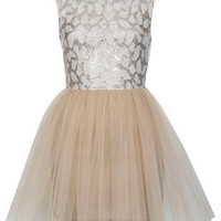 Petites Lace Tutu Dress