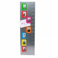 Magnetic Photo Frame Height Chart - Gifts For Children from the gifted penguin UK