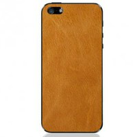 Premium Leather iPhone 5 Skin