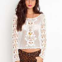 Poison Crochet Knit - NASTY GAL