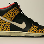 NIKE WMNS DUNK HIGH SKINNY LEOPARD CHEETAH SANDTRAP GOLD SZ 7 - 10.5 DUNK WOMAN