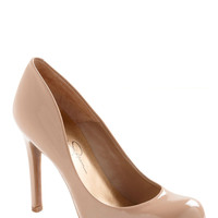 Wishing and Hoping Heel in Taupe | Mod Retro Vintage Heels | ModCloth.com