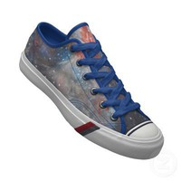 Space Art Galaxy Stars Keds Shoe - Flame Nebula from Zazzle.com
