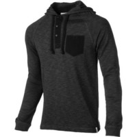 Ezekiel Men's Robbins Hoodie Pullover, Black, Medium