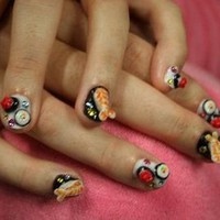 Katie Perry's Sushi Nails