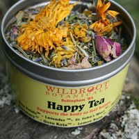 Happy Tea by wildroot on Etsy