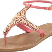 ZiGiny Women's Insight Sandal,Coral,8.5 M US