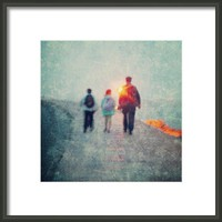 It Takes Courage To Grow Up And Become Framed Print By Alexandra Cook