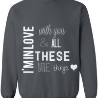 Little Things Sweatshirt (1D)