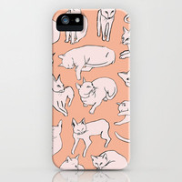 Picasso Cats iPhone Case by Leah Reena Goren | Society6