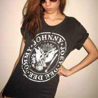The Ramones 70's Punk Rock CBGB's Garage Pop T-Shirt M