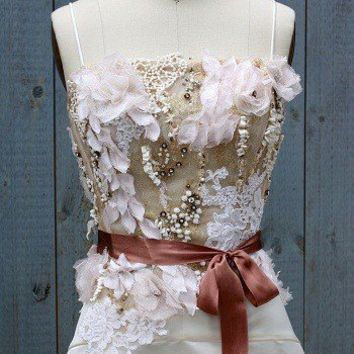 ECO ROCOCO silk duchess wedding dress by upoppy on Etsy