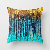 :: Party On :: Throw Pillow by GaleStorm Artworks | Society6