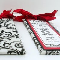 Handmade Wedding Bookmarker Favors .. on Luulla