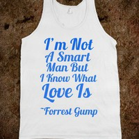 Forrest Gump Tank - Curly Hair Just Dont Care