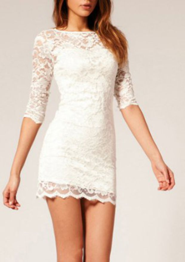 Full Lace Dress by Dynamic Clothing
