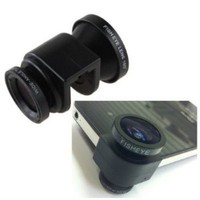 Amazon.com: 3-in-1 Fisheye Lens/ Wide Angle/ Micro Lens Photo Kit Set for iPhone 5 - New iPhone: Cell Phones &amp; Accessories