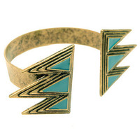 GYPSY WARRIOR - Aztec Turquoise Cuff