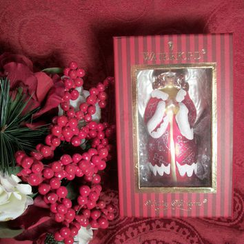 Waterford Praying Angel Christmas Tree Ornament NEW in Box with Tags