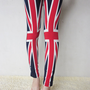 UK flag Union Jack  leggings