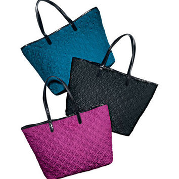 Avon: Quilted Pattern Tote Bag