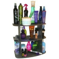 Amazon.com: The Perfect Cosmetic Shelf ..No More Clutter! Triple Your Storage. Also Fits Great on Back of Toilet... Goes with Any Decor. Great Gift Item! Proudly Made in the USA !: Home &amp; Kitchen