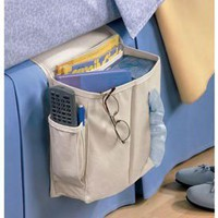 Amazon.com: Sidekick Home Organizer Bedside/Arm Chair Caddy, Light Khaki: Home &amp; Kitchen