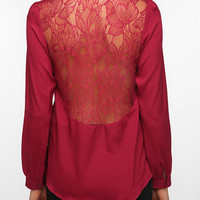 Thistlepearl Lace Inset Blouse