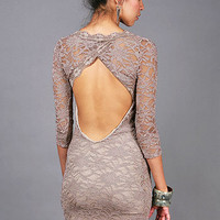 Lace Peek Dress | Lace Dresses at Pink Ice