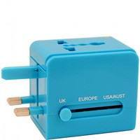 Flight 001 |  UNIVERSAL ADAPTER BLUE - Adapters - All Products