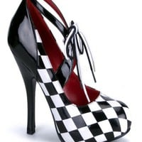 Black White Patent Diamond Checker Heels @ Amiclubwear Heel Shoes online store sales:Stiletto Heel Shoes,High Heel Pumps,Womens High Heel Shoes,Prom Shoes,Summer Shoes,Spring Shoes,Spool Heel,Womens Dress Shoes,Prom Heels,Prom Pumps,High Heel Sandals,Chea