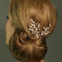 Regina B. -- T360 Delicate Floral Comb Set | Wedding Jewelry | Bridal Headpieces