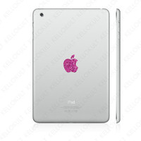iPad Mini Sparkling Rose Apple Overlay