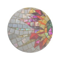 Floral Mosaic Coaster from Zazzle.com