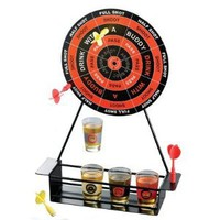Crystal Clear Shot Glass Darts Bar Game Set: Amazon.com: Kitchen &amp; Dining