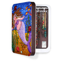 DENY Designs Home Accessories | Renie Britenbucher Purple Mermaid BlingBox 2ct