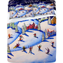 DENY Designs Home Accessories | Renie Britenbucher Winter Skiing Fun Sheet Set