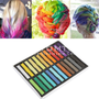 24 Color Hair Chalk Non-toxic Temporary Salon Kit Pastel With Box High Quality