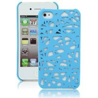 Blue Birds Nest Case for Apple iPhone 4, 4S (AT&T, Verizon, Sprint): Cell Phones & Accessories