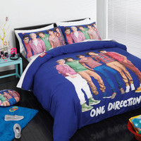 Genuine One Direction 1D Single Bed Size Doona Quilt Cover Set 2pc NEW Design 1