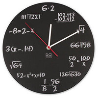 ThinkGeek :: Pop Quiz Clock