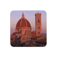 coaster set Florence Duomo at sunset from Zazzle.com