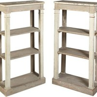 One Kings Lane - Jed Johnson Associates, Inc. - Swedish Bookcases, C. 1850, Pair