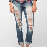 BDG Slim Straight Jean - Destructed