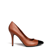 Pointy Toe Cap Pumps - 2020AVE
