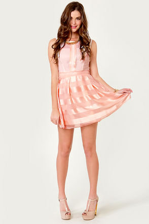 Pink Dress on Honeymoon Sweet Blush Pink Dress On Wanelo