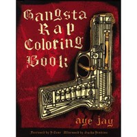 Gangsta Rap Coloring Book [Paperback]