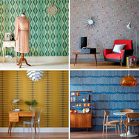 Vintage by Hemingway Design Wallpaper | Design Milk